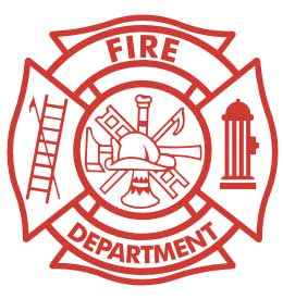 PMVFC Fire Department Badge
